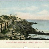 Image of Roton Point from Bathing Beach, Norwalk Harbor, Conn.