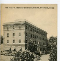 Image of Mary A. Bedford Home for Nurses, Norwalk, Conn.