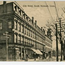 Image of City Hotel, South Norwalk, Conn.