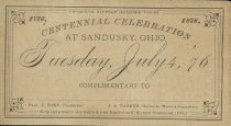 Image of Centennial Ticket
