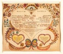 Image of Certificate, Birth/Baptismal -