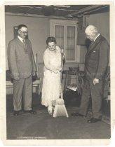 Image of Irwin Richard, Mrs. John Sippel, R.W. Dunlap