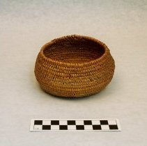 Image of 254.001 image showing front and interior of basket