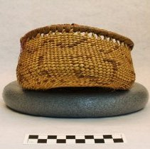 Image of 270.004 image showing the lettering on the basket