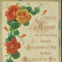 Image of Greeting card - 1879