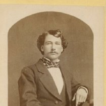 Image of Portrait of Man Sitting - 1895 C