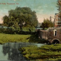 Image of Finkle Bros. Grist Mill at McIntosh's Pond - 1910 C