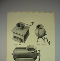 Image of Drawing of Grinders - 1975 C