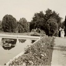 Image of Los Angeles - Unidentified Park and Pond (1936 C) - 1936