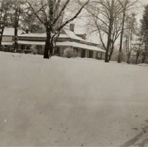 Image of Dundas 1193 - J.G. Vansittart Home - Bysham Park - Winter Scene - 1940