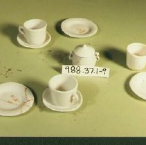 Image of Doll Dishes - Saucers - 1905 C