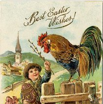Image of Easter - Best Easter Wishes! - 1900 C