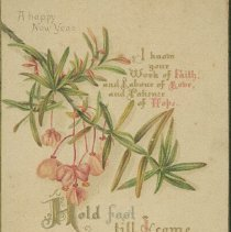 Image of New Years Card - 1890