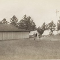 Image of Camp Borden - Mess Hall - Rear View - 1927/07