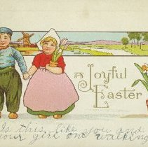 Image of Easter card - 1915 C