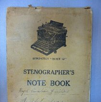 Image of Notebook - 1927