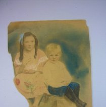 Image of Drawing of Anne and Crawford Lindsay - 1902 C