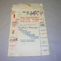 Image of Hyde's Pharmacy Ltd. Photograph Envelope - 1967/07/04