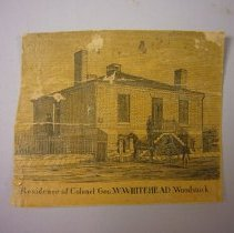 Image of Residence of Colonel Geo W.Whitehead - 1857