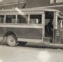 Image of Woodstock & Ingersoll Bus - 1926