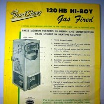 Image of Good Cheer Advertisement for Furnaces - 1945 C