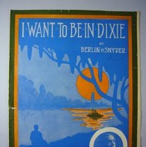 "Image of ""I Want to be in Dixie"" Sheet Music - 1912"