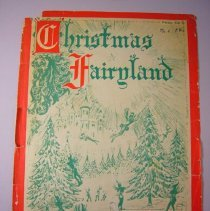 "Image of ""Christmas Fairyland"" Sheet Music - 1954"