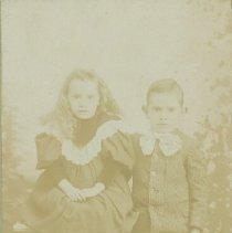 Image of Hart Family Member/Friend - Children (Boy and Girl) - 1901 C