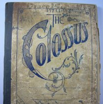 Image of The Colossus, Recipe Book - 1916