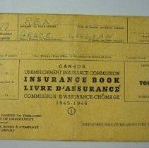 Image of Grace Rex Insurance Book - 1945 C