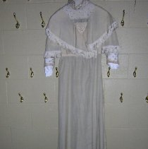 Image of Wedding Dress - 1870 C