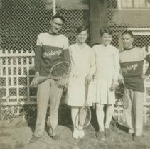 Image of Gordon, Irene, Grace and Roy - 1928