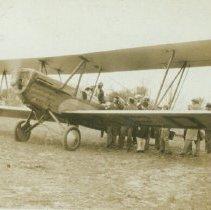 Image of Roy Bigham- First Airplane Ride - 1929