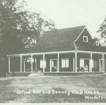 Image of Oxford Golf and Country Club House - 1905