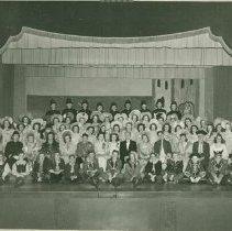 Image of Cast of The Pirates of Penzance at Woodstock Collegiate Institute (W.C.I.)  - 1946/03/01