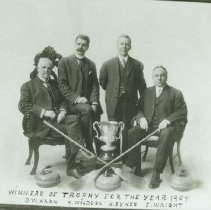 Image of Woodstock Curling Club Championship - 1909
