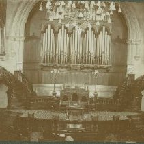 Image of Knox Presbyterian Church - Interior - 1935 C