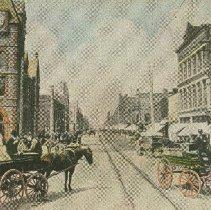 Image of Dundas Street looking West - 1906/03/19