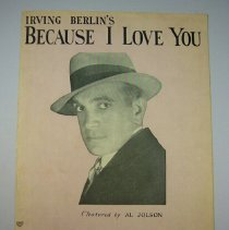 """Image of """"Because I Love You"""" Sheet Music - 1908"""