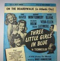 "Image of ""On the Boardwalk in Atlantic City"" Sheet Music - 1946"