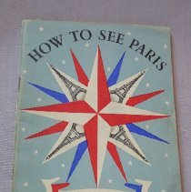 "Image of ""How to See Paris"" Instruction Booklet - 1945"