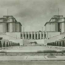 Image of The Chaillot Palace, Paris, France - 1945
