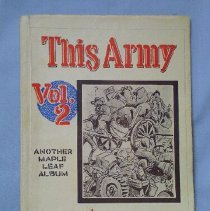 """Image of """"This Army"""" Comic Strip Book - 1945"""