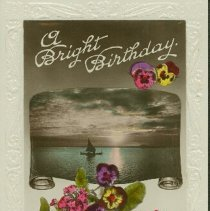 Image of Birthday - Bright Birthday - 1924 C