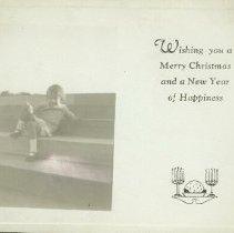 Image of Christmas Card - 1955 C