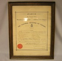 Image of The Charter of the Imperial Order of the Daughters of the Empire (I.O.D.E) - 1903/02/26