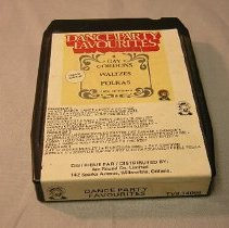 Image of Dance Party Favourites Eight Track Tape - 1972 C