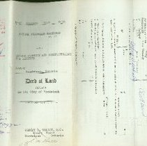 Image of Eureka  Foundry & Manufacturing Company Deed of Land - 1964/01/10
