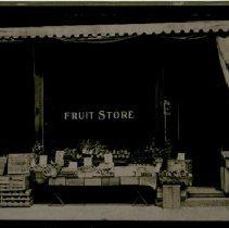 Image of E. Scalisi Fruit Store - Rear - 1905 C