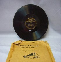 Image of Phonograph Record and Jacket - 1915 C